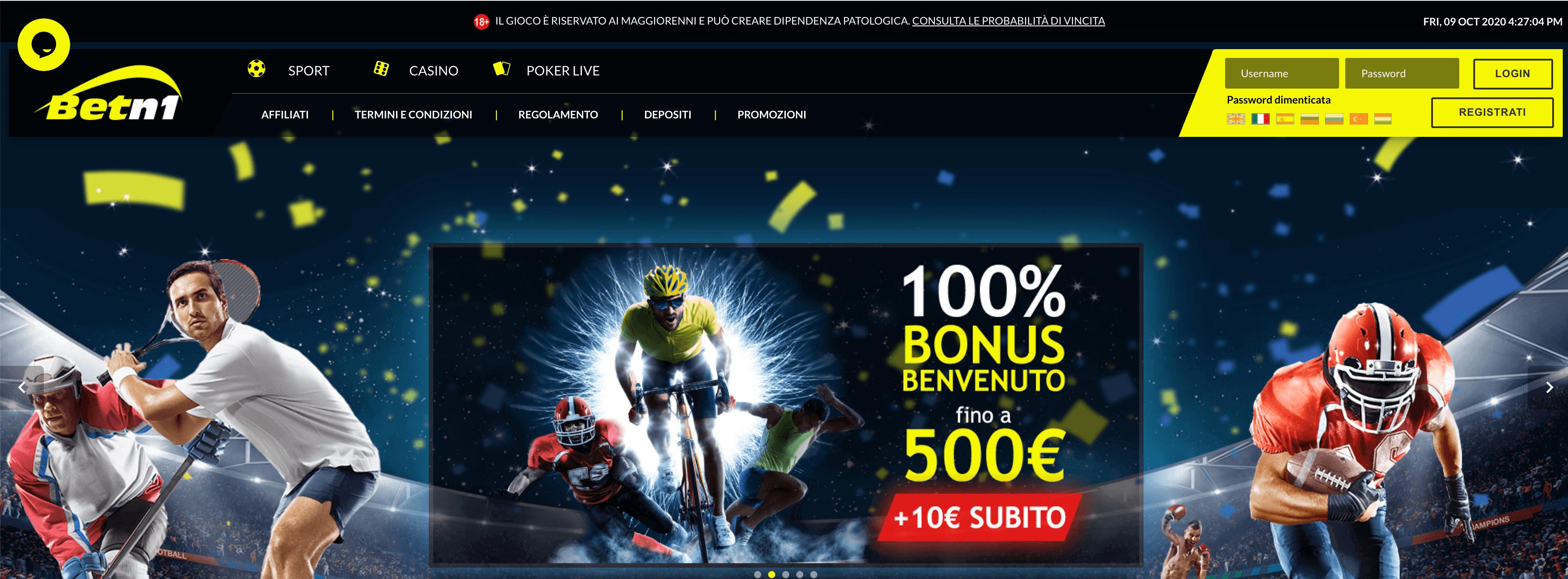 betn1 homepage